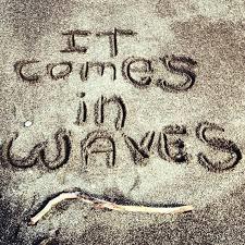 When The WavesHit